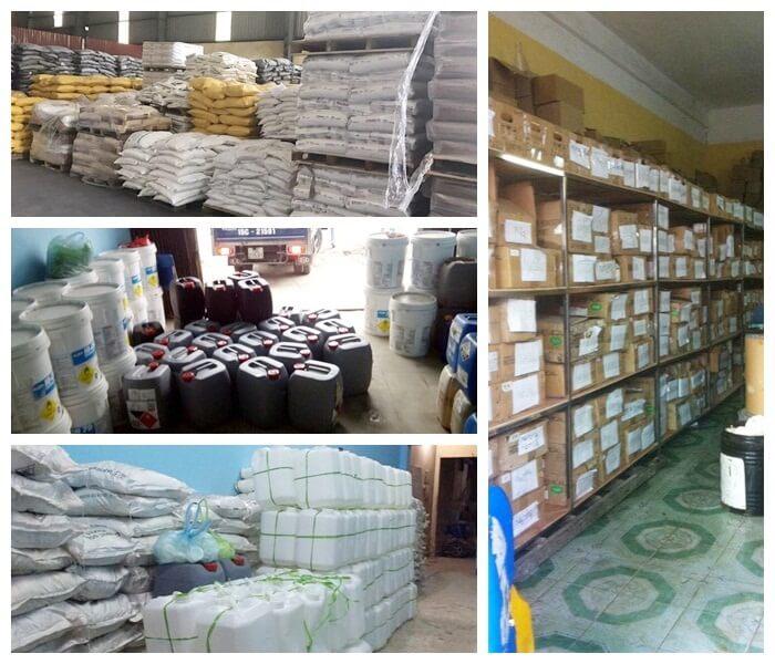Bán buôn bán lẻ hóa chất công nghiệp tại Hải Phòng